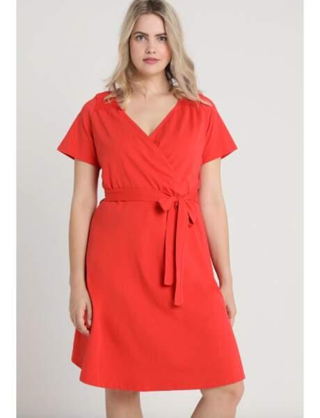 Mode grande taille : la robe portefeuille