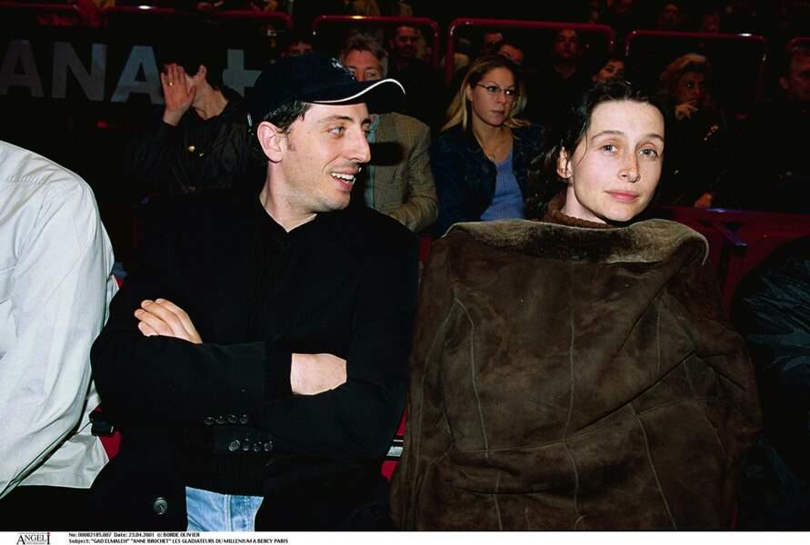 Anne Brochet, en couple avec Gad Elmaleh au début des années 2000