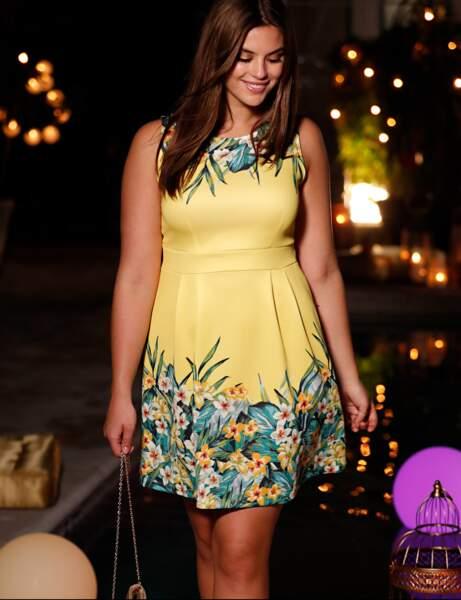 Mode grande taille : la robe d'été exotique