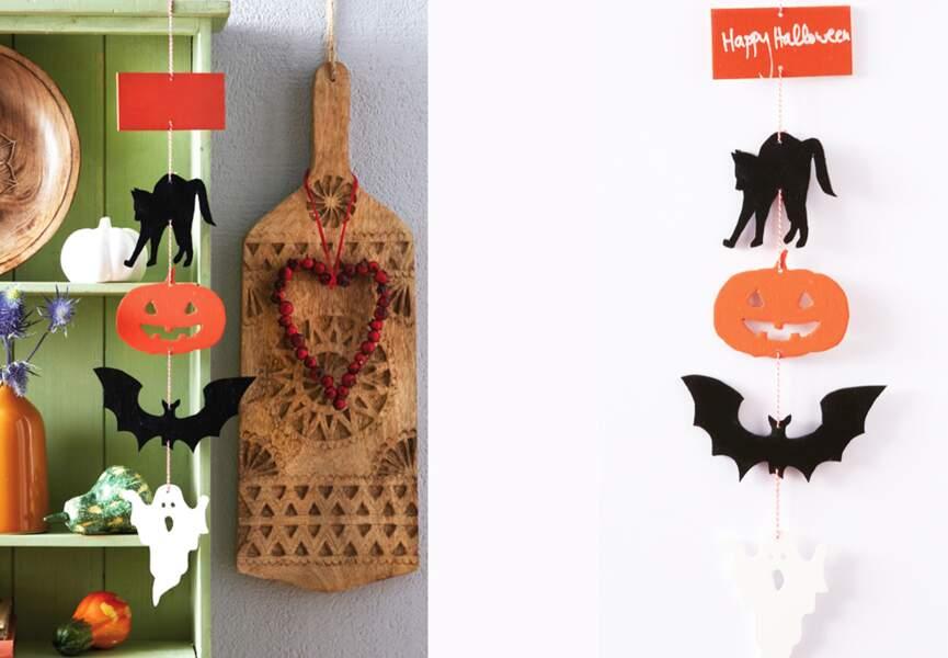 Un mobile spécial Halloween