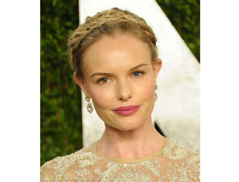 La tresse bandeau comme Kate Bosworth