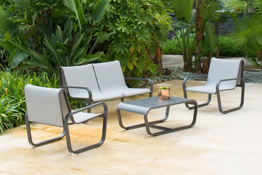 Un salon de jardin design