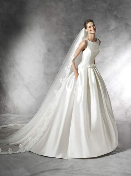 Robe de mariée Pronovias : Barcaza