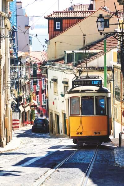 Lisbonne et son tramway E28