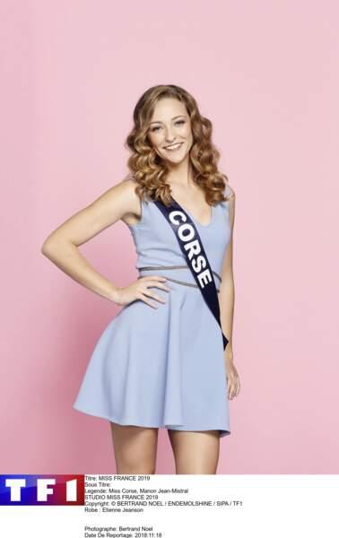 Miss Corse, Manon Jean-Mistral