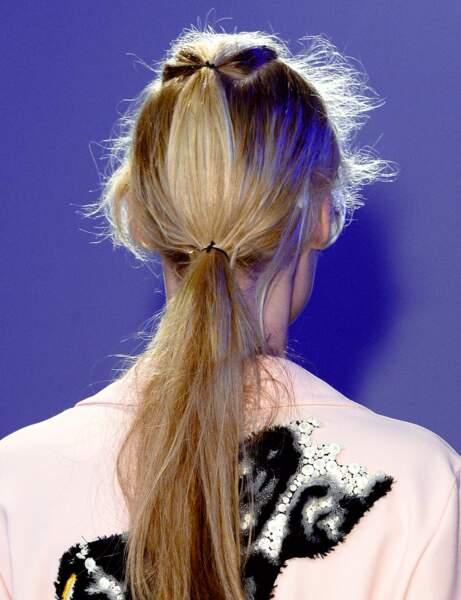 La double ponytail