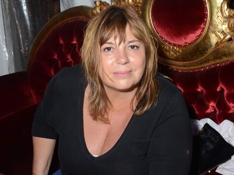 Michèle Bernier à la fête des Tuileries en juin 2014.
