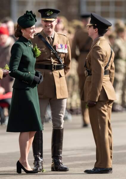 Kate Middleton, sublime en manteau Alexander McQueen