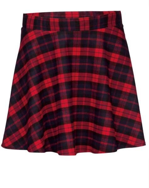 La jupe, imprimé écossais