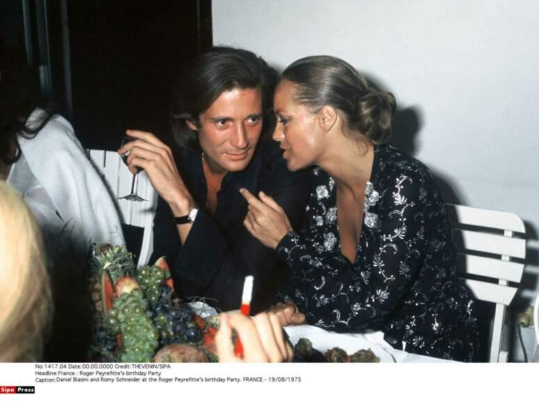 Romy Schneider et Daniel Biasini, 1975-1981