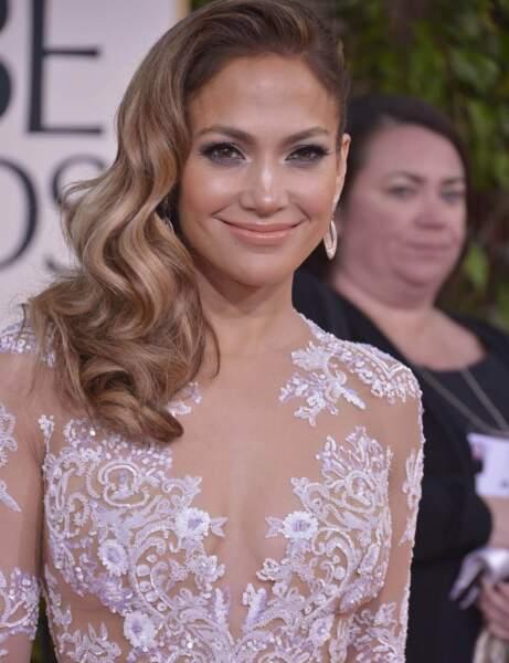 "Le ""side hair"" selon Jennifer Lopez"