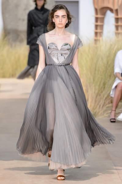 Robe de rêve du défilé Christian Dior haute couture automne hiver 2017-2018