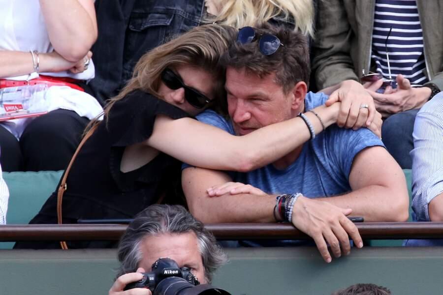 Benjamin Castaldi et son épouse Aurore Aleman : 2018