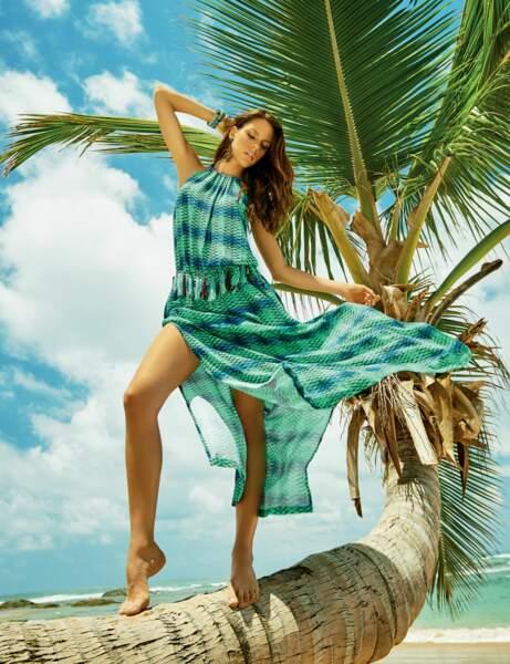 Robe de plage exotique
