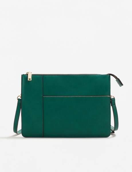 Mango : le sac vert émeraude
