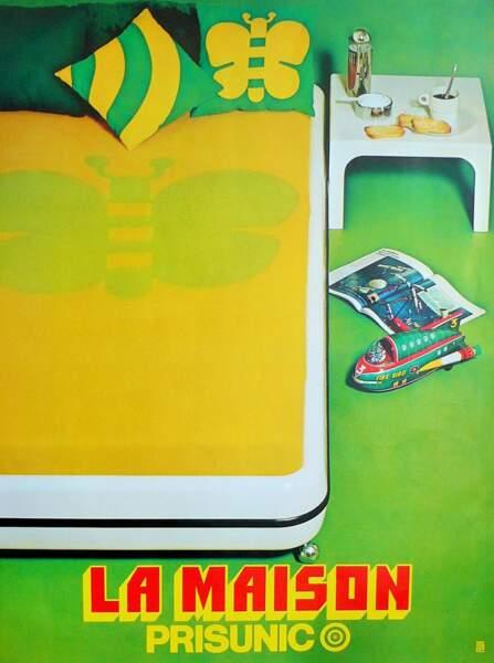Affiche avec lit design Marc Held