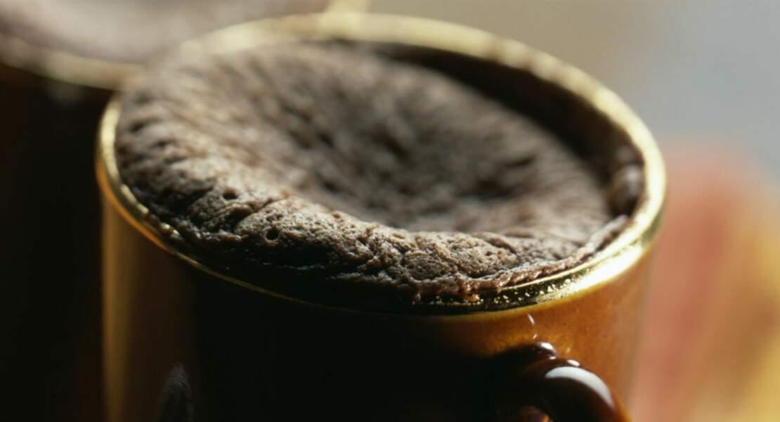 Mugcake façon fondant au chocolat