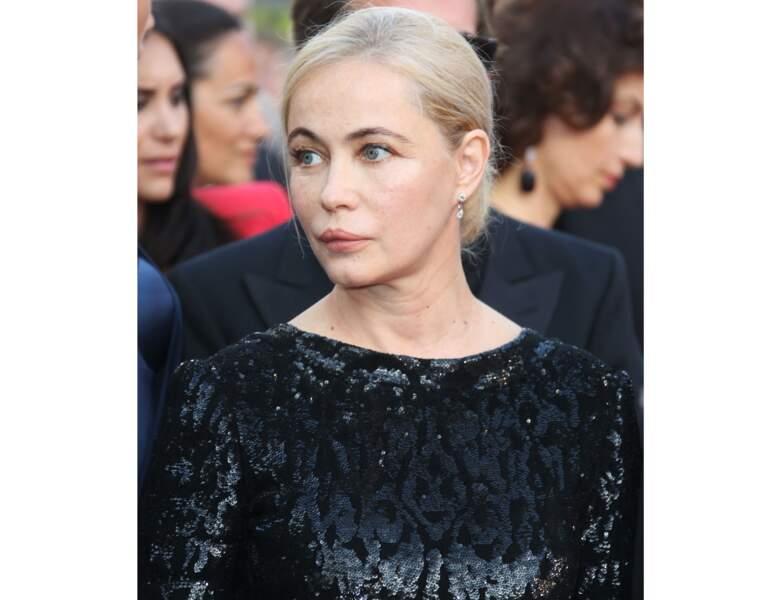 En 2017, l'actrice a 54 ans et assiste au Festival de Cannes