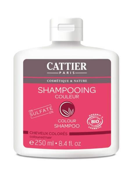 Shampooing Couleur, Cattier : pour protéger la couleur