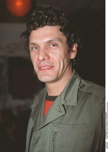 Marc Lavoine lors d'une soirée à Paris le 6 juin 2002.