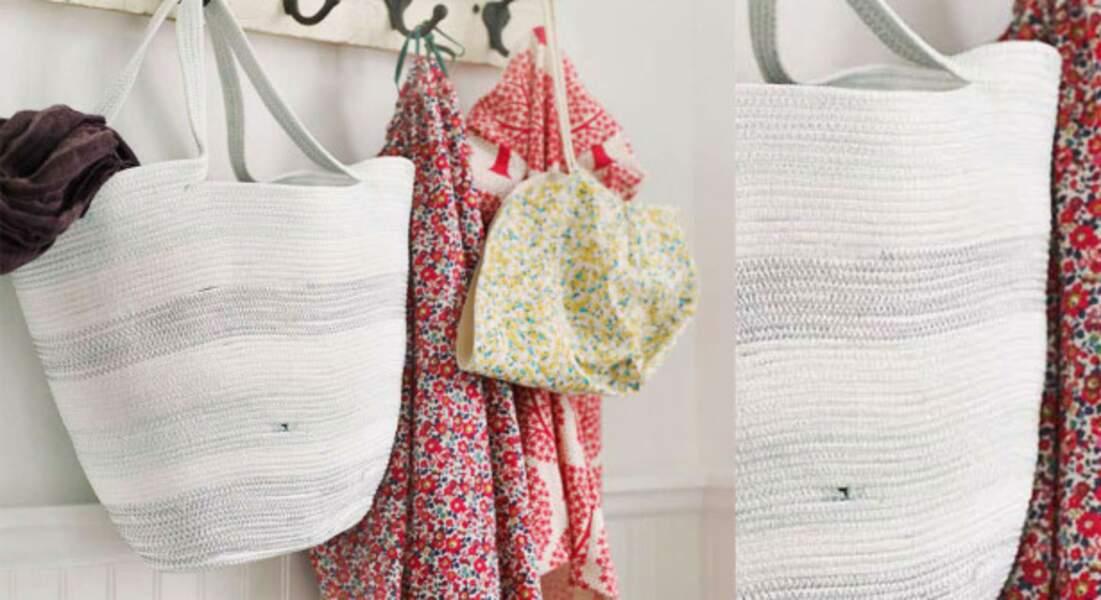 Un sac DIY en corde