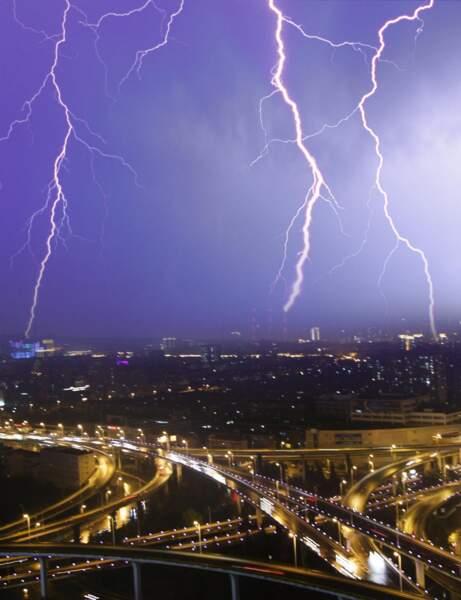 ...l'orage !