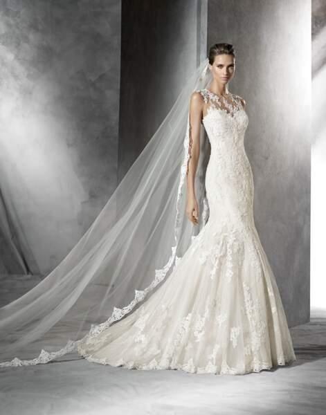 Robe de mariée Pronovias : Pladie