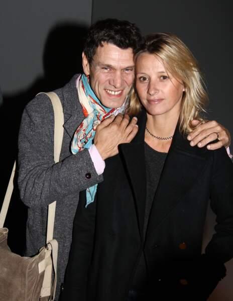 Marc Lavoine et Sarah Poniatowski, 2012