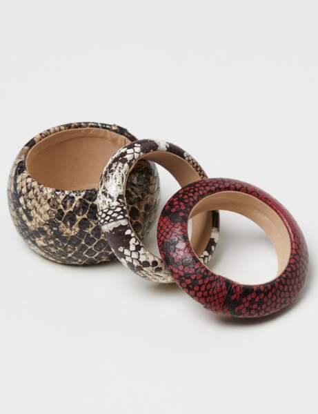 Tendance python : bracelets