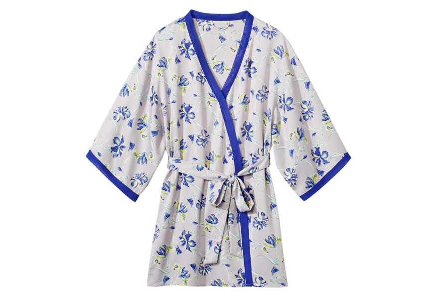 Tendance Kimono: esprit lingerie