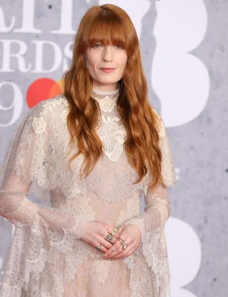 Le roux naturel de Florence Welch