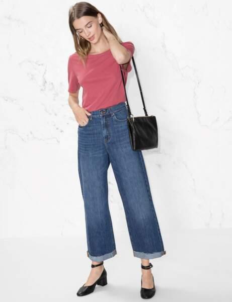 Jean : oversize