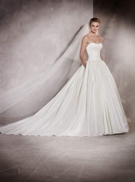 Robe de mariée Pronovias : Aurelia