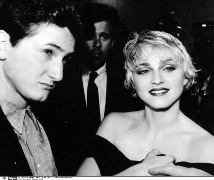 Sean Penn, Madonna, 1985-1989