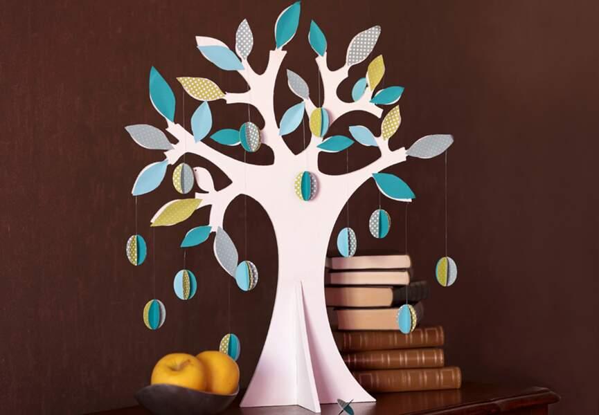 Un arbre décoratif pour Pâques