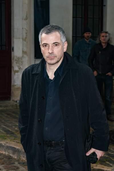 Bruno Putzulu aux obsèques de Dick Rivers en l'église Saint-Pierre de Montmartre, à Paris, le 2 mai 2019.