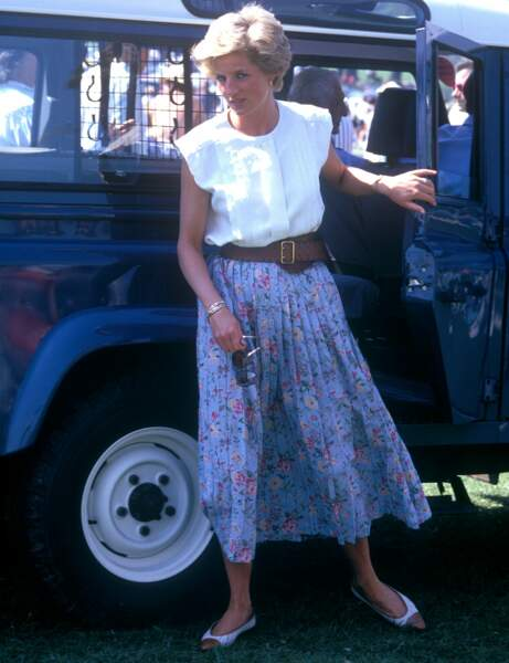 Le style Lady Di : country