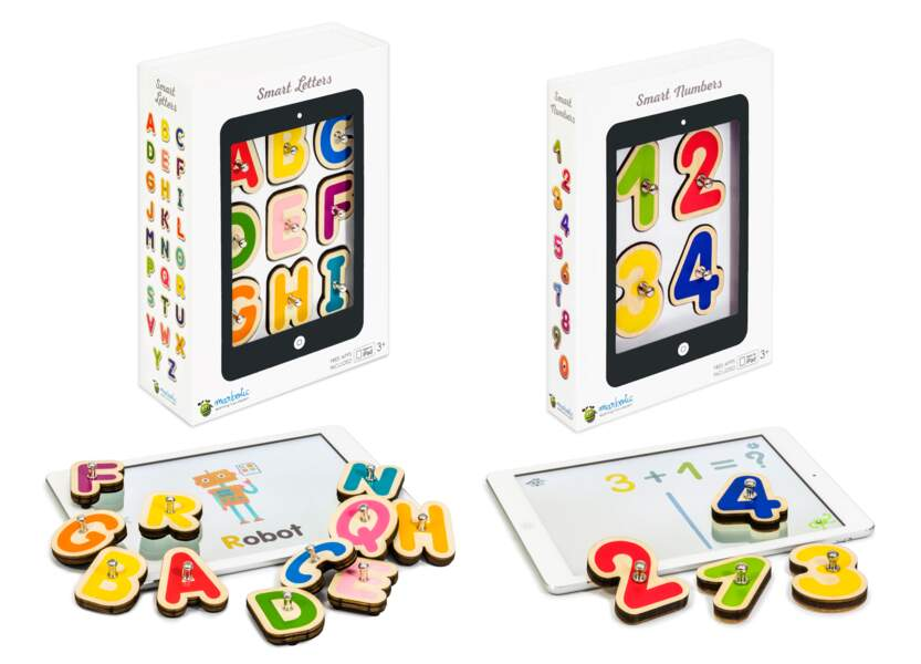 Montessori : les Smart Numbers et Smart Letters - Marbotic