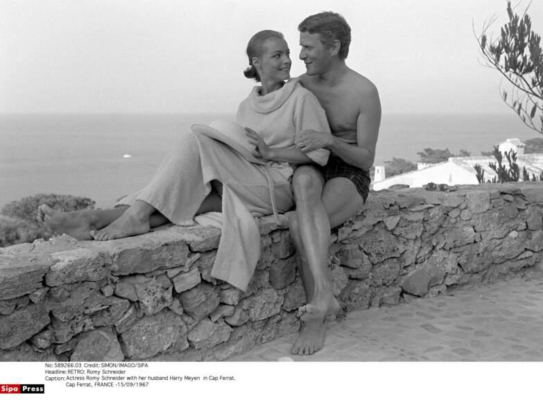 Romy Schneider et Harry Meyen