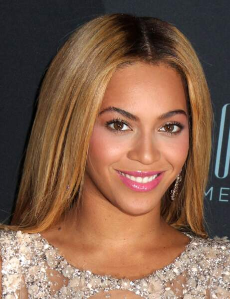 La bouche glossy de Beyoncé