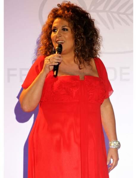 Marianne James au dîner d'ouverture du Festival de Cannes en 2010