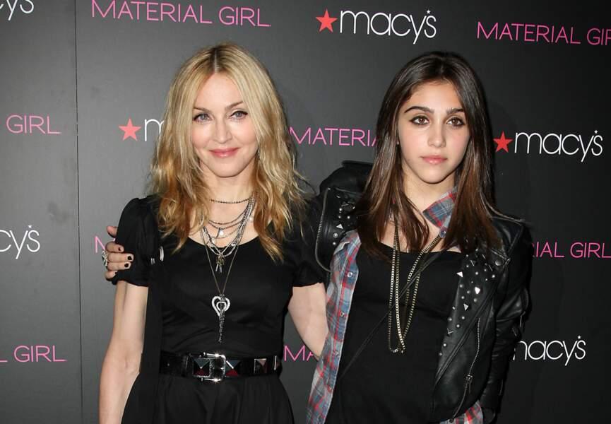 Madonna et sa fille Lourdes