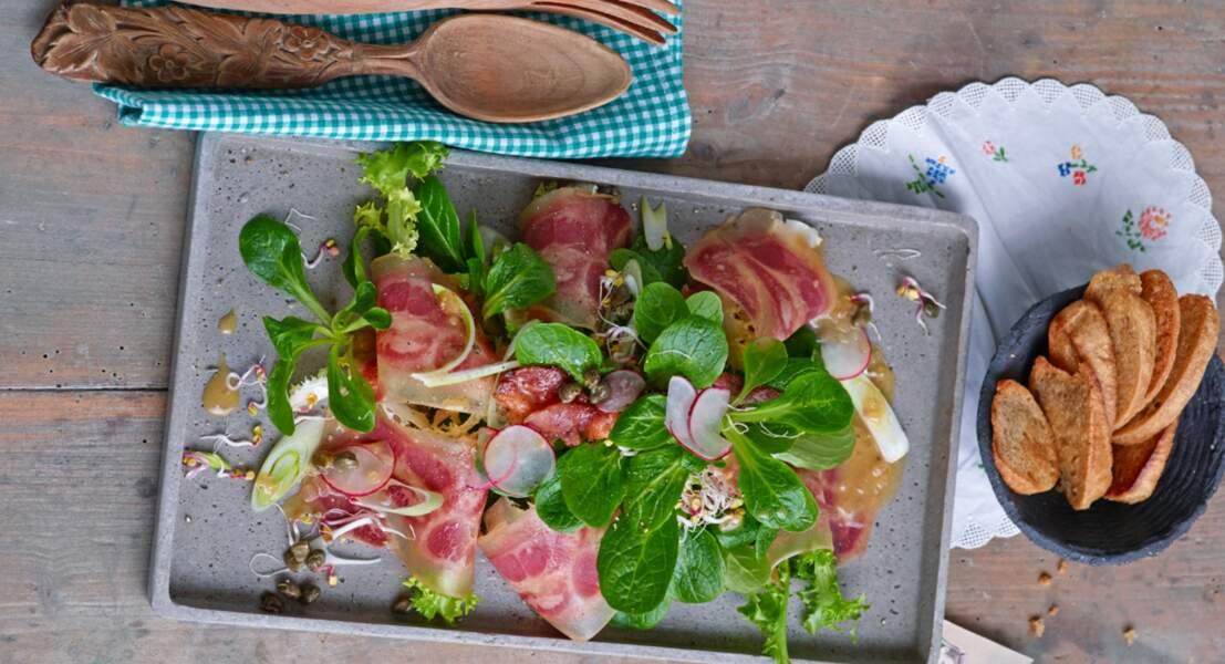 Salade de museau aux câpres