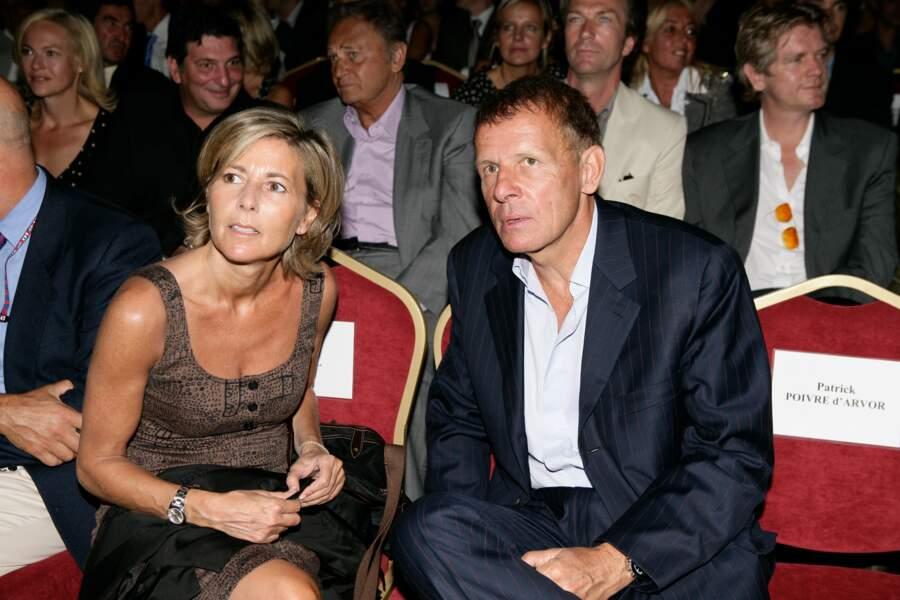 Claire Chazal et Patrick Poivre d'Arvor