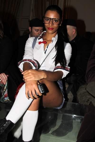 La chanteuse Shym : 2011