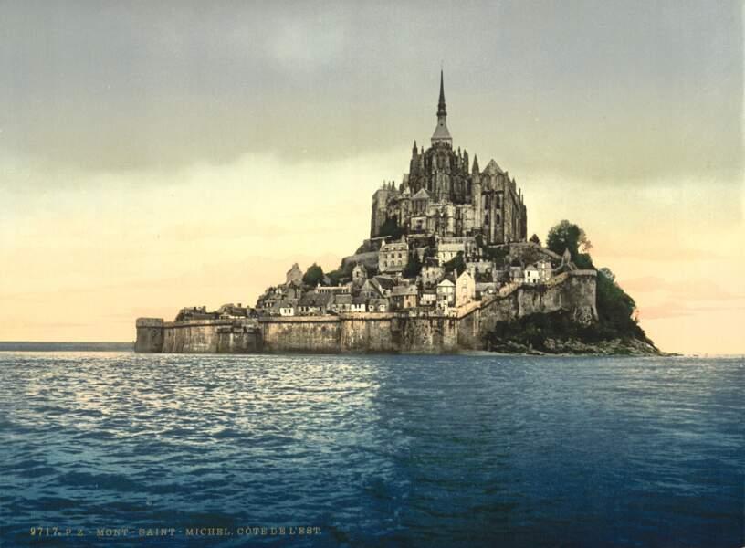 Le Mont-Saint-Michel immergé