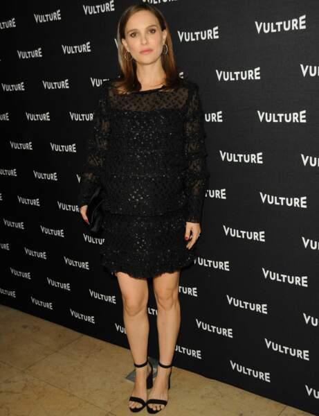 Natalie Portman : petite robe noire