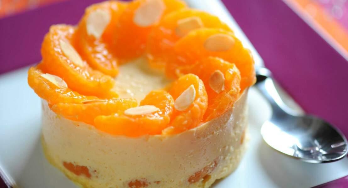 Bavarois à la mandarine