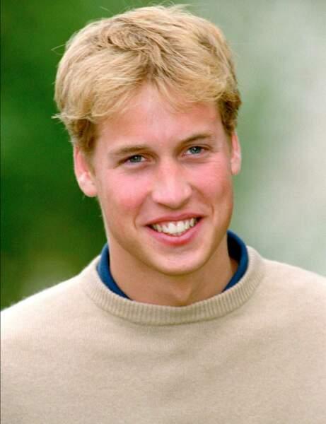 Le Prince William à 18 ans