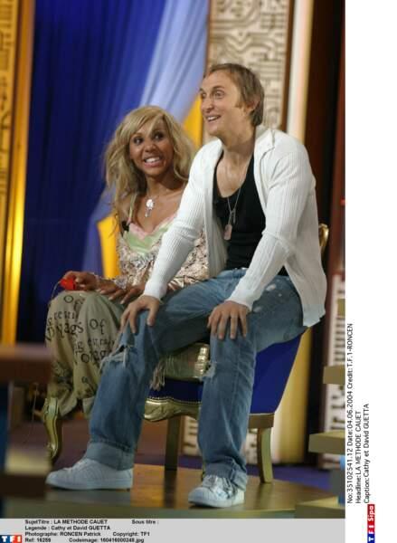 David et Cathy Guetta en 2004